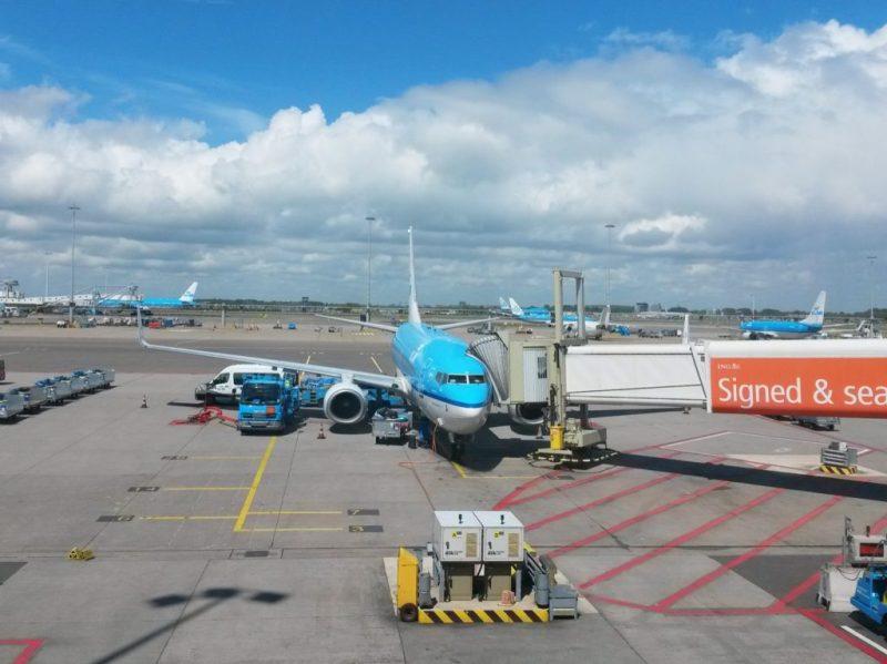 KLM Flight Review Amsterdam to Zurich