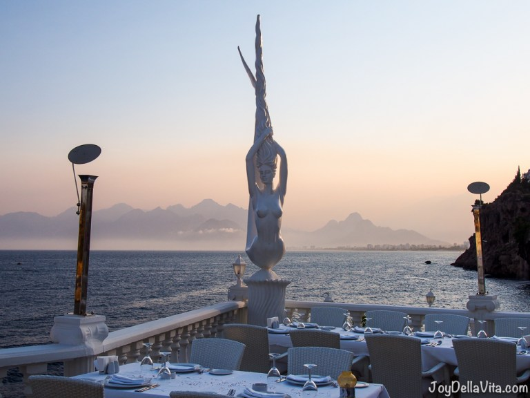 Arma Restaurant in Antalya at the Old Harbour