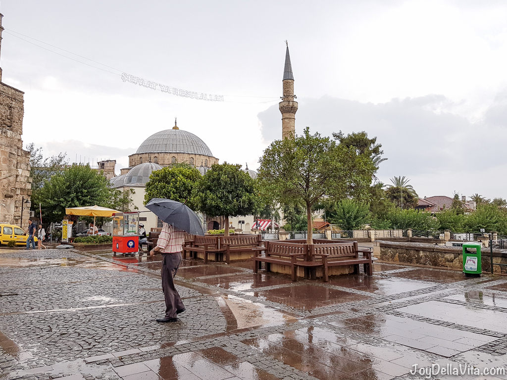 Antalya in the rain