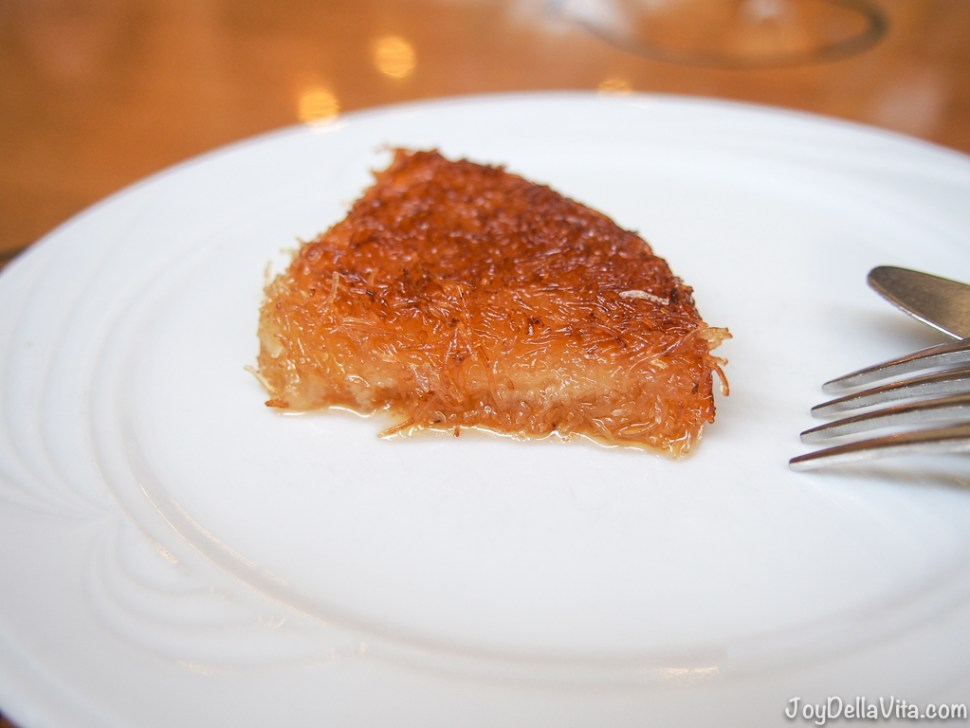 Künefe turkish sweet cheese Antalya