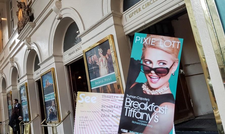 Breakfast at Tiffany's with Pixie Lott at Haymarket Theatre London
