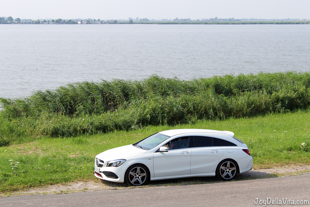 Mercedes-Benz CLA Shooting Brake in Durgerdam Amsterdam