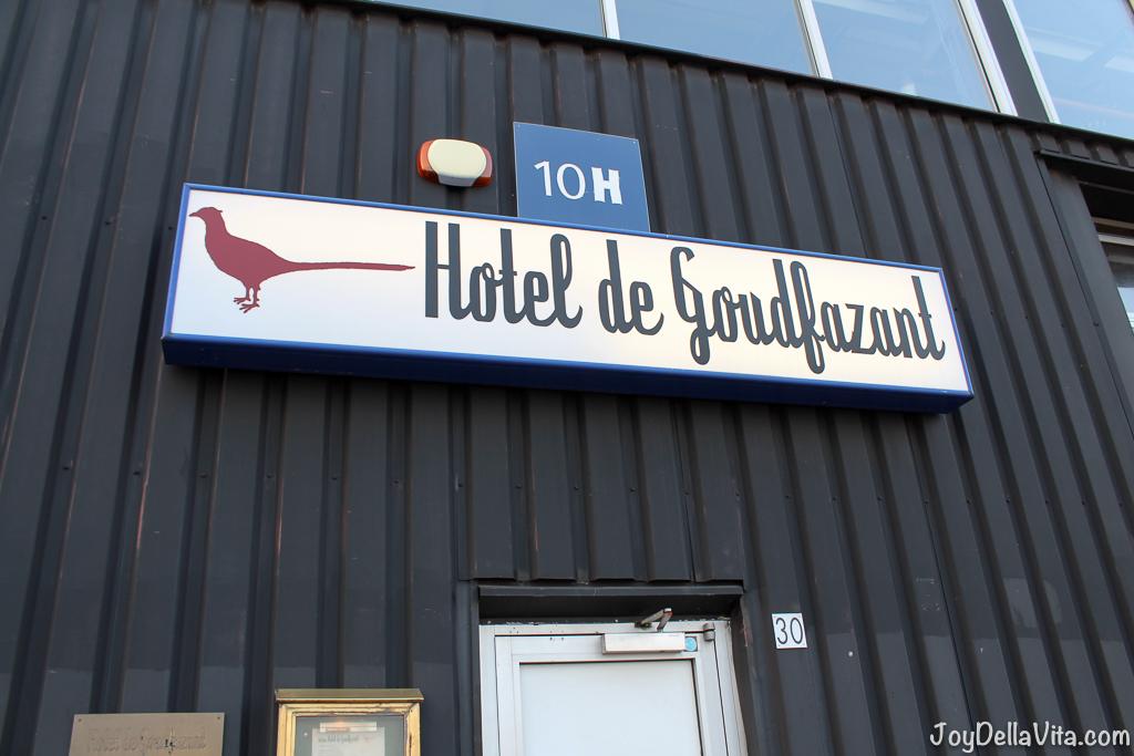 Hotel De Goudfazant Restaurant Amsterdam