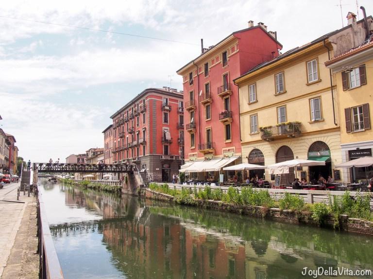 Travel Diary: Walking along Naviglio Grande in Milan's Navigli District