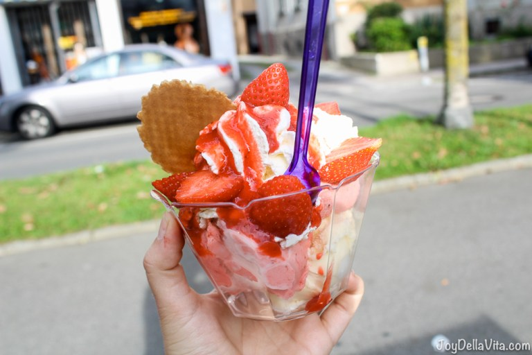 Italia Ice-Cream Kiosk in Friedrichshafen