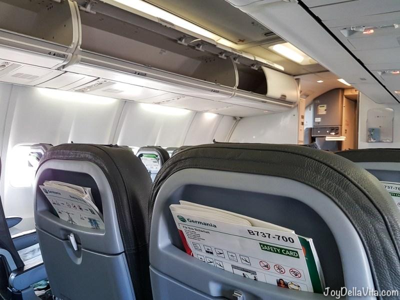 Germania Flight Review Palma de Mallorca JoyDellaVita