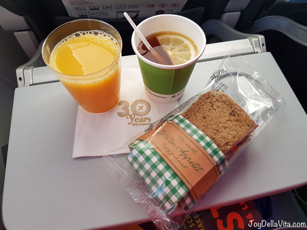 Germania Flight Review Palma de Mallorca JoyDellaVita