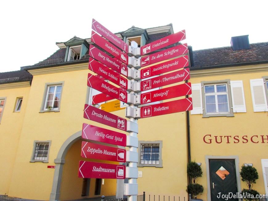 how to get around Meersburg