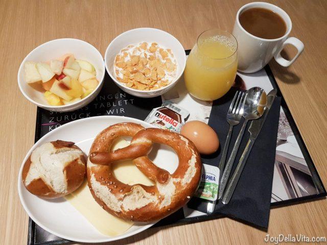 Breakfast at Moxy Munich Airport Hotel