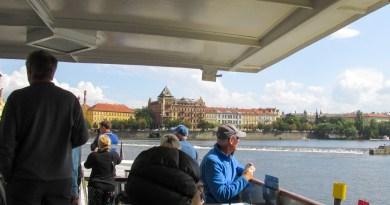 Prague Boats Boat Tour on Vltava river in Prague JoyDellaVita Travelblog