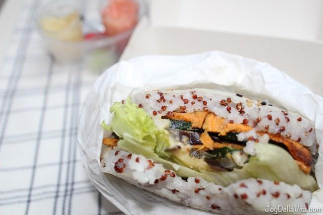 Veggie Sushi Burger Kreative Reisrollen Tettnang JoyDellaVita