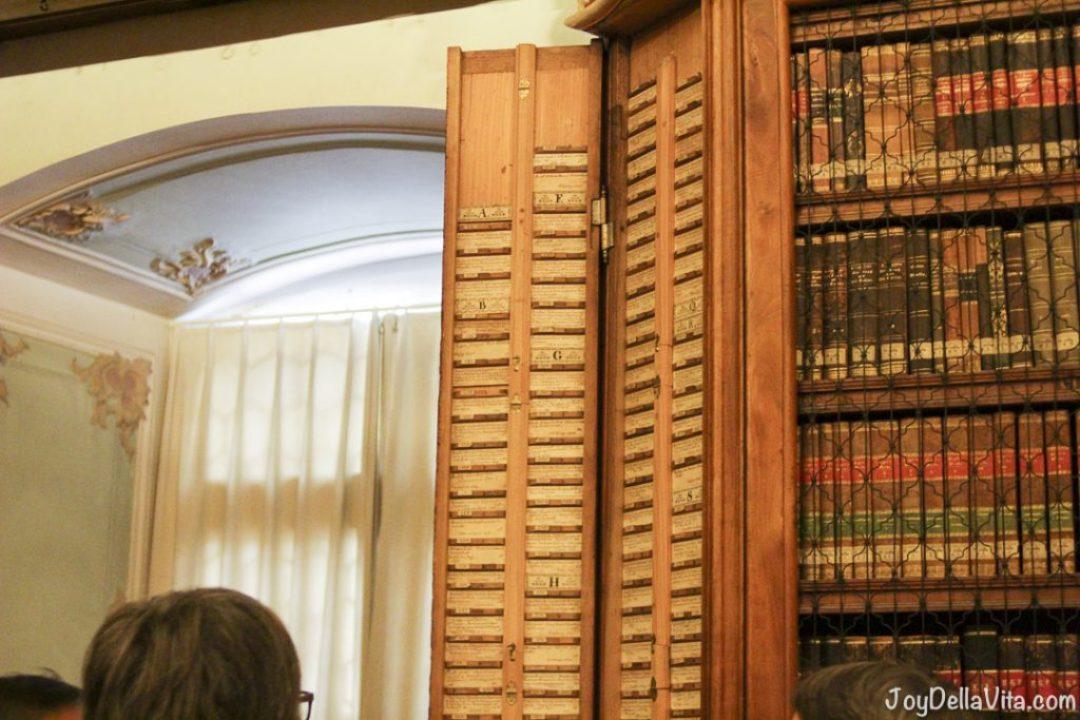 Abbey library Saint Gall JoyDellaVita