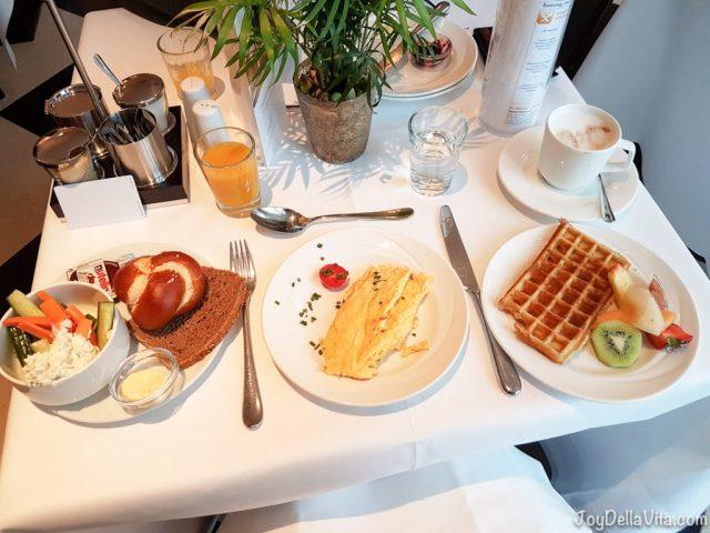 Breakfast at Dorint Hotel Maison Messmer Baden-Baden