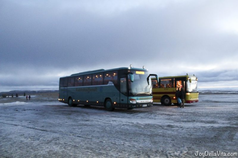 Tourist Bus Transfer to North Cape in November