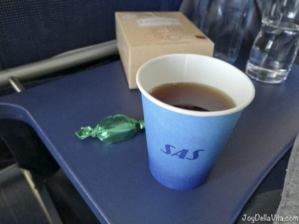 Tea with mint chocolate