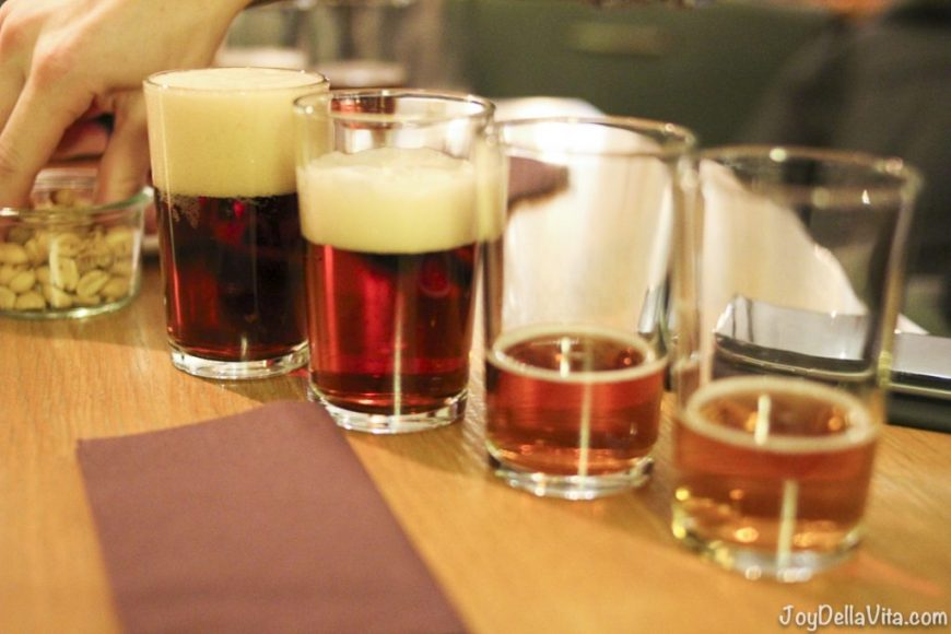 Mack Brewery Beer Tasting - Mack Brewery is the world's northernmost brewery