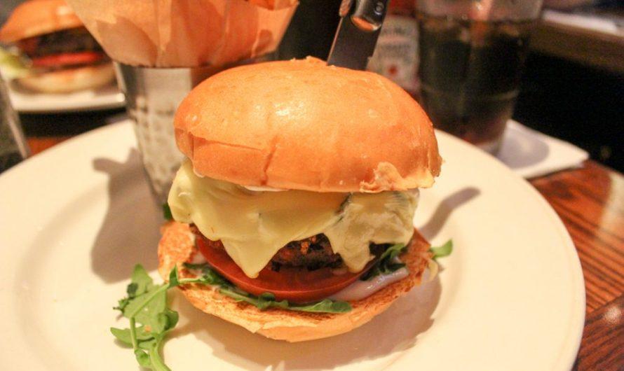 Veggie Cauliflower Burger at Hard Rock Café Barcelona