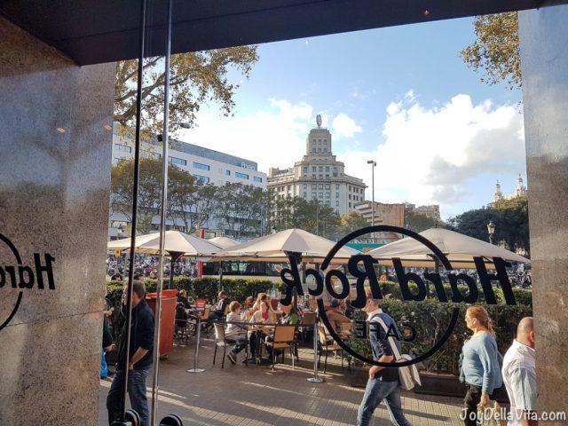 Hard Rock Cafe Barcelona at Plaça de Catalunya
