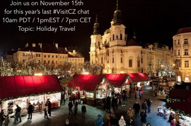 @VisitCZ Holiday Travel Chat on Nov 15th!