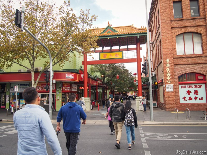 Pailou Arch / Entrance to Chinatown Adelaide from Grote Street