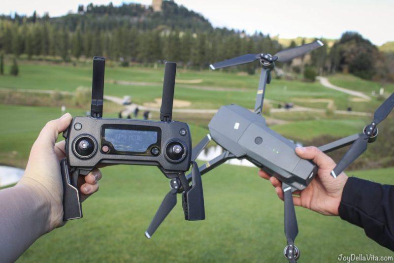 DJI Mavic Pro first time flying a drone lisa joydellavita castelfali