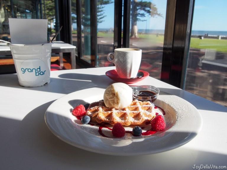 Grand Cafe Glenelg Beach by the Beach