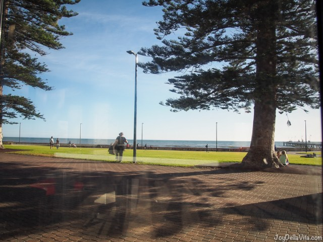 View from Grand Bar in Glenelg Beach