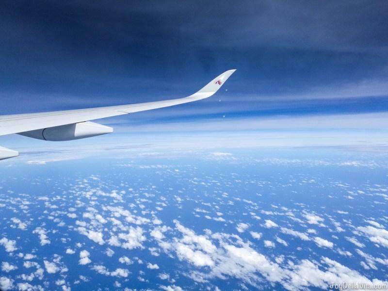 Qatar Airways Doha to Adelaide Economy Class JoyDellaVita