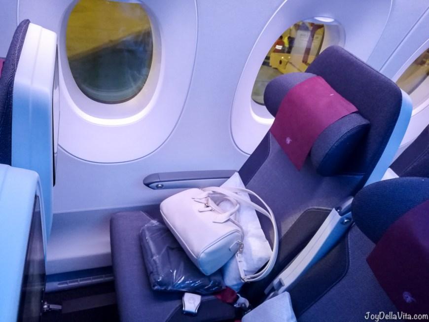 Qatar Airways Economy Class Airbus A350