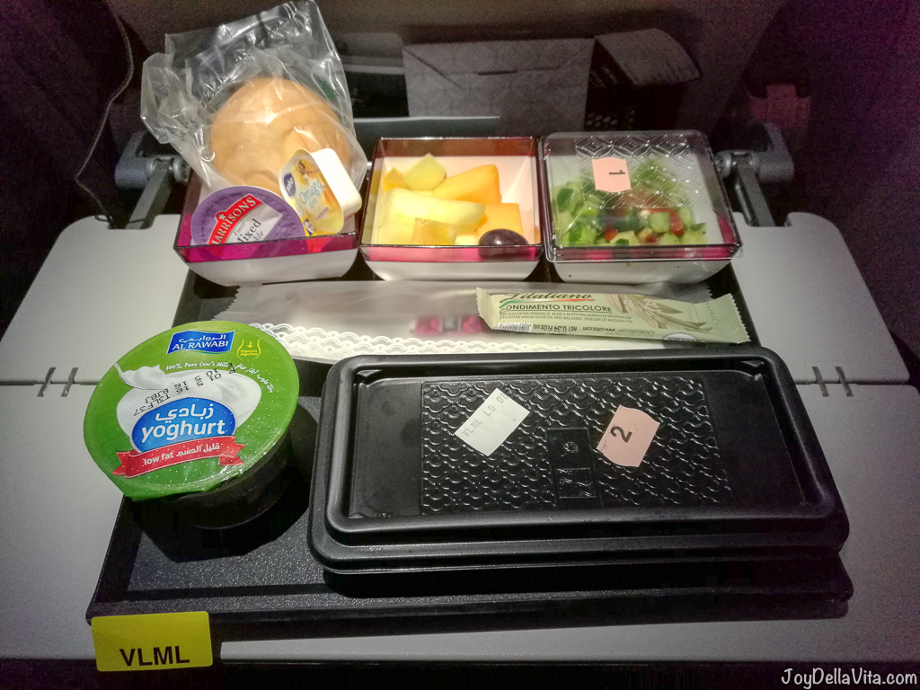 Qatar Airways Vegetarian Meal - Special Request