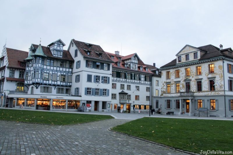 St Gallen in Winter JoyDellaVita