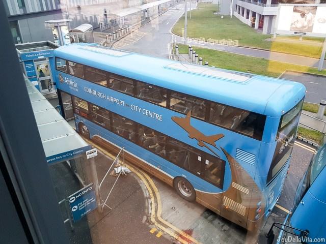 AirLink Edinburgh Airport Bus JoyDellaVita