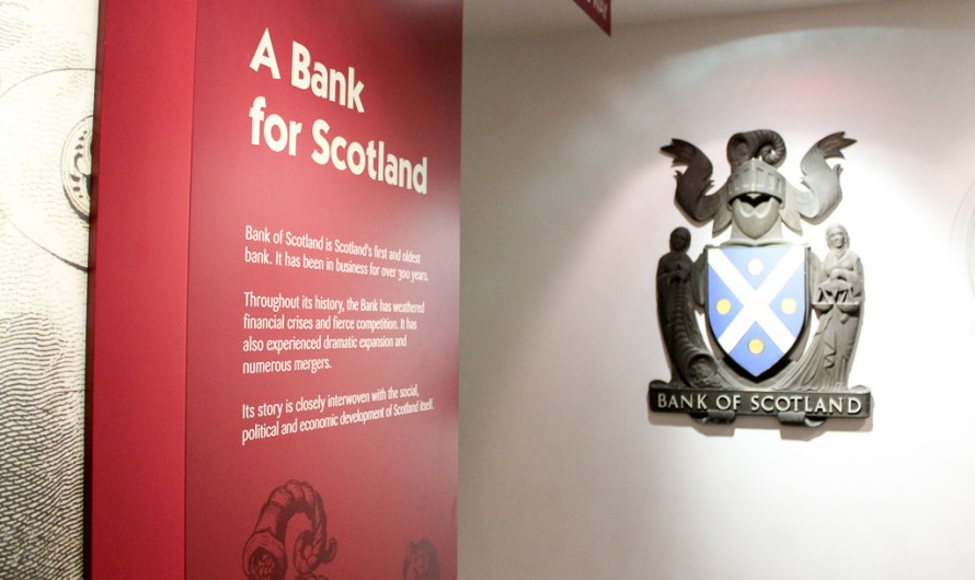 Bank of Scotland 'Museum on the Mound' Edinburgh