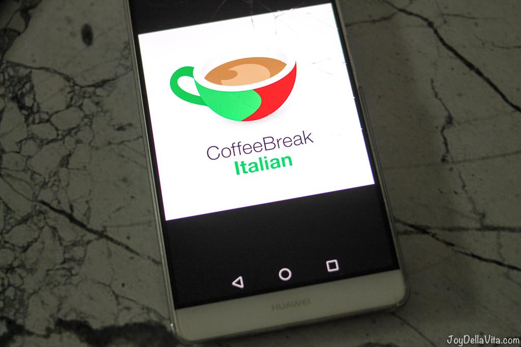 Coffee Break Italian Radio Lingua Network JoyDellaVita