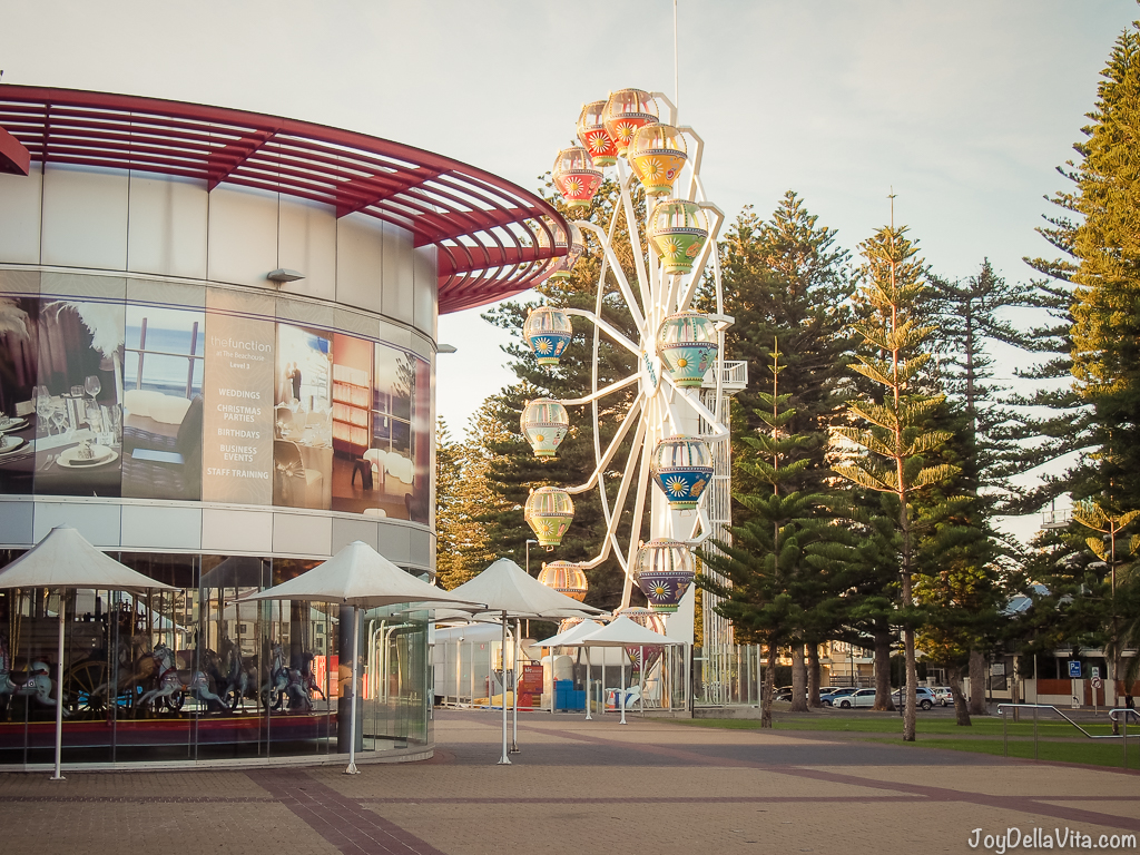 Glenelg amusement park