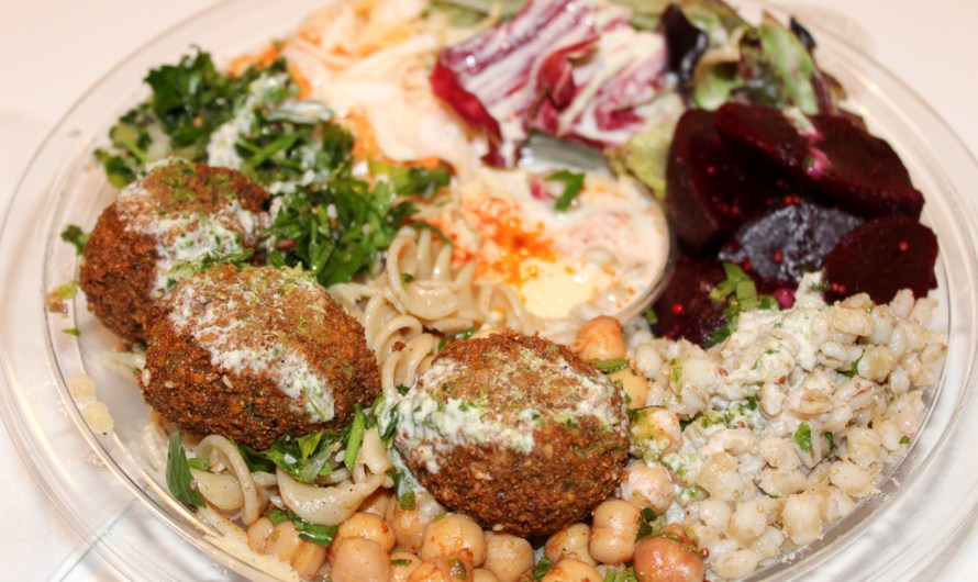 Salad Box with Falafel by GoFalafel Manchester