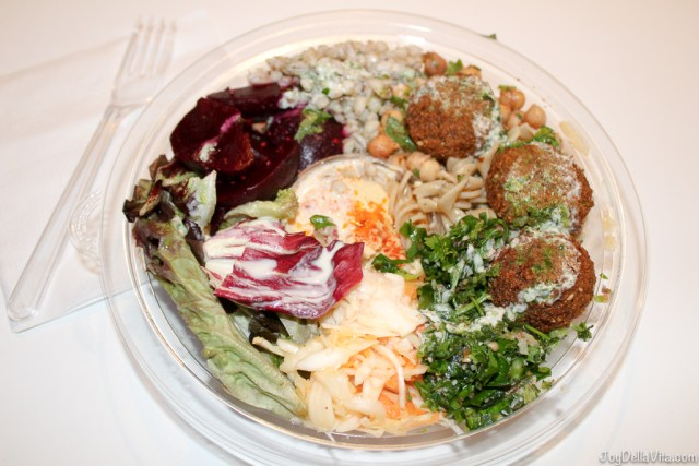 GoFalafel Salad box with Falafel and Hummous