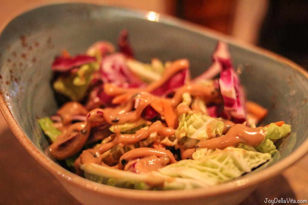Roasted peanut coleslaw Jamboree Manchester JoyDellaVita
