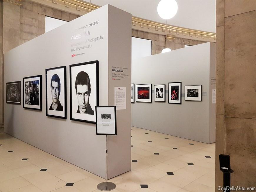 Oasis DNA Exhibition Manchester 2017 JoyDellaVita