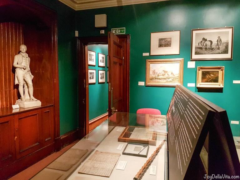 The Writers' Museum Edinburgh (free admission)