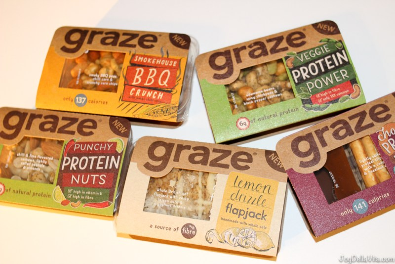 graze healthy snacks UK Supermarket Haul JoyDellaVita