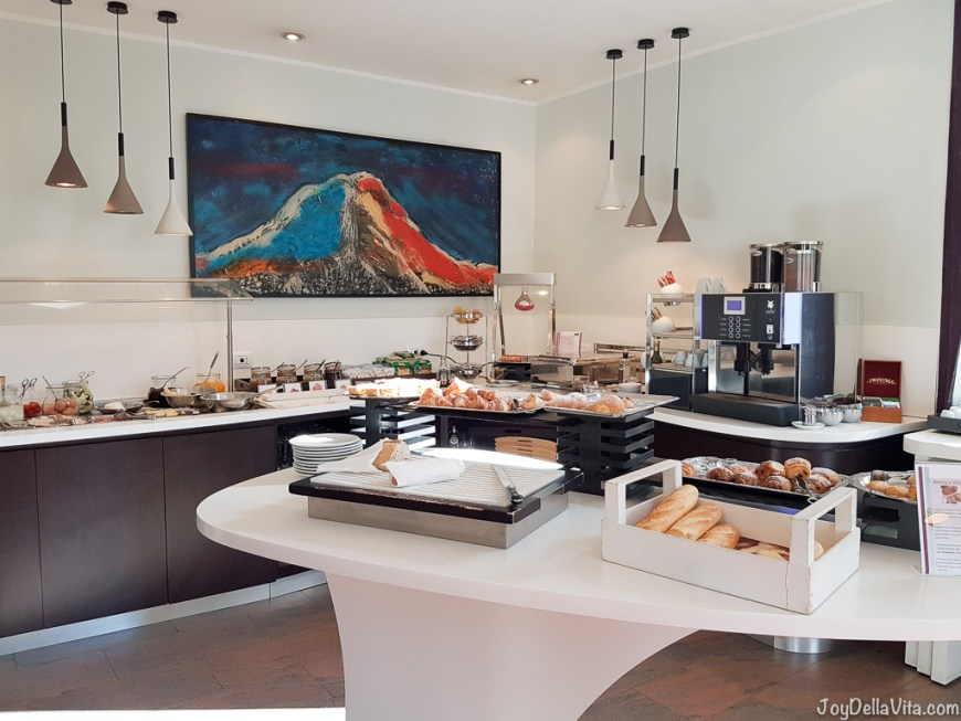 Breakfast Buffet at Mercure Napoli Centro Angioino