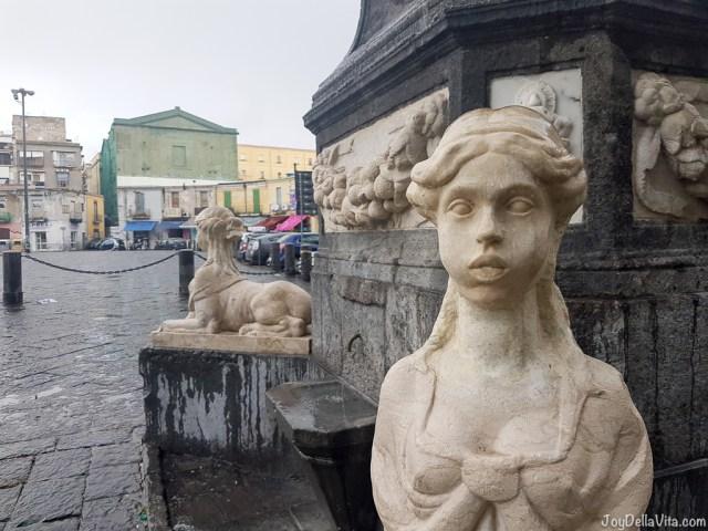 Piazza Mercato Naples Smartphone Sightseeing Walk JoyDellaVita
