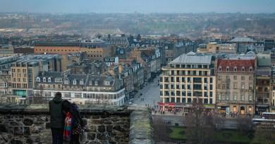 Places with a view in Edinburgh Scotland JoyDellaVita