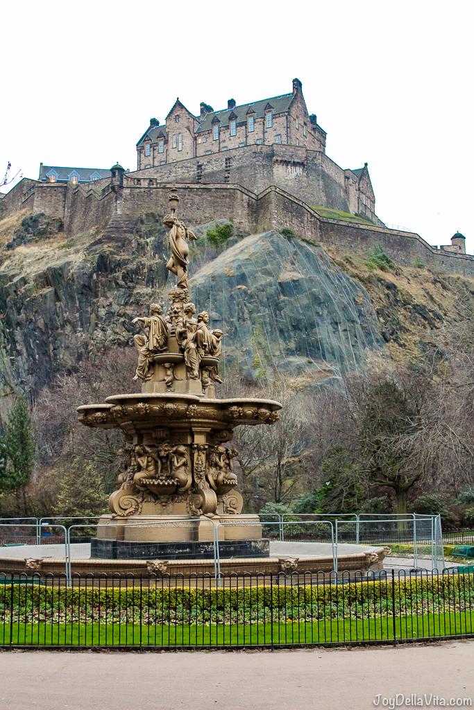 Princess Gardens Castle Edinburgh JoyDellaVita