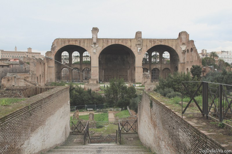 Antiquarium Forense Roman Forum Rome Winter JoyDellaVita