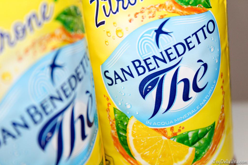 San Benedetto Thé Iced Tea JoyDellaVita