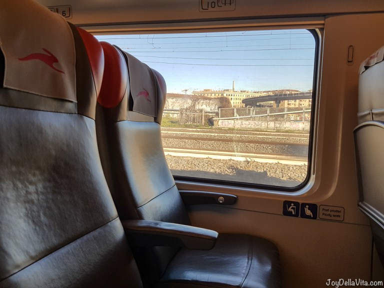 italo Train from Naples to Rome in Italy – Trip Report