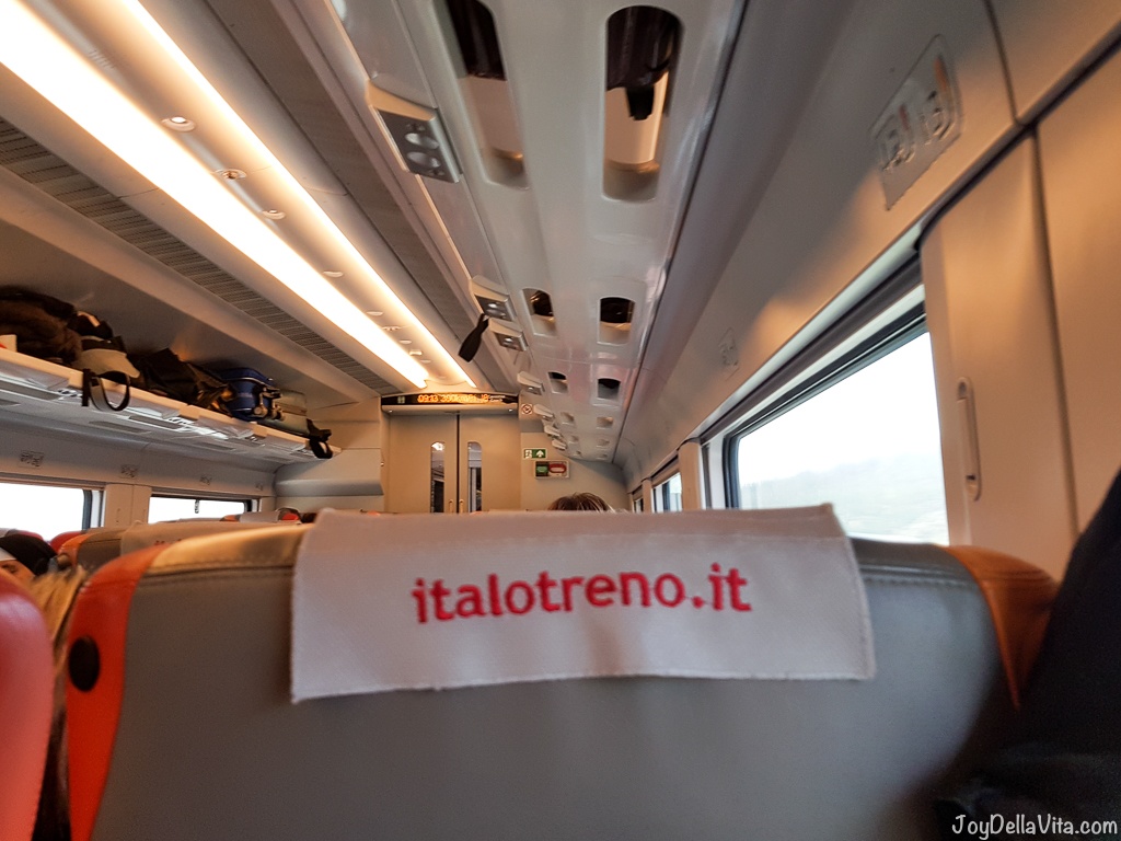 italo Train Naples Rome JoydellaVita