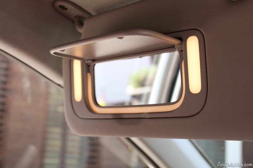 Illuminated Vanity Mirror inside the Kia Picanto GT-Line